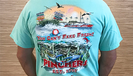 Pinchers_T-Shirt_Light_Teal